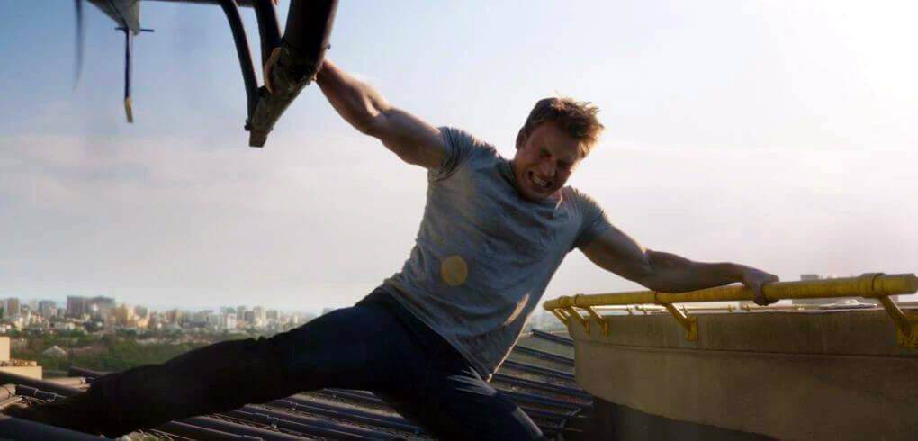 chris evans workout routine civil war