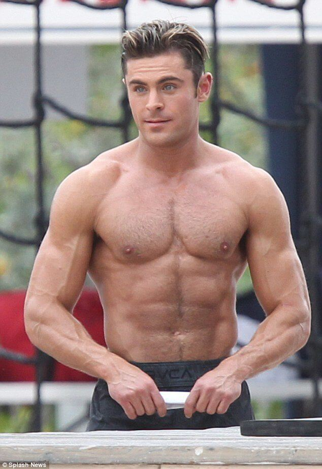 Zac Efron Workout Routine To Get Jacked: How He Went From ...