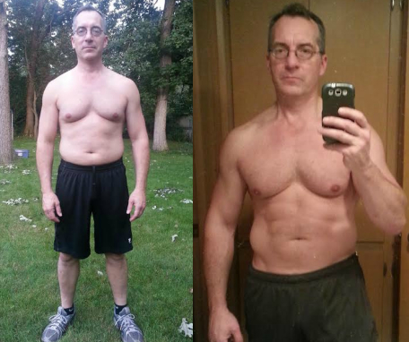 """f9b065ba48 Neal was finally able to build a """"Daniel Craig body"""" by only working out 3x  per week and eating his favorite foods every day."""