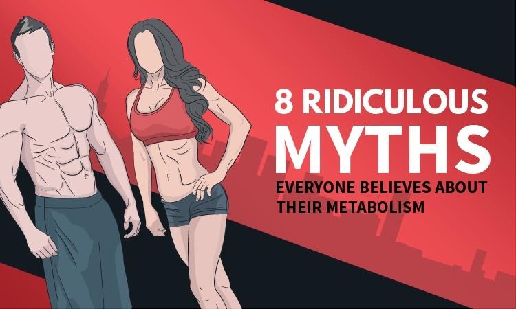 slow metabolism myths