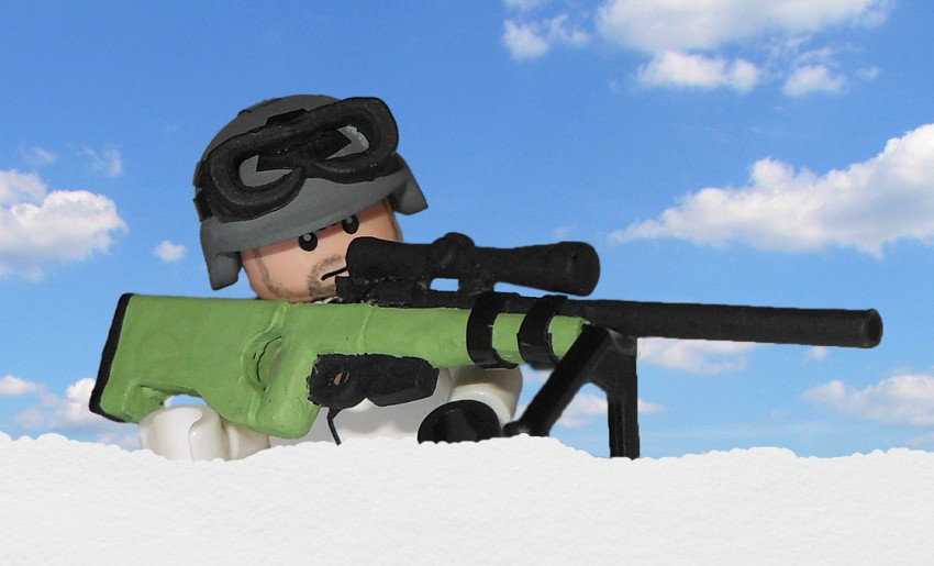 lego sniper person thing