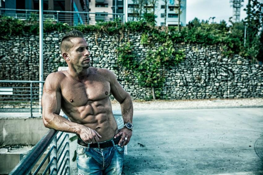 fitness model body