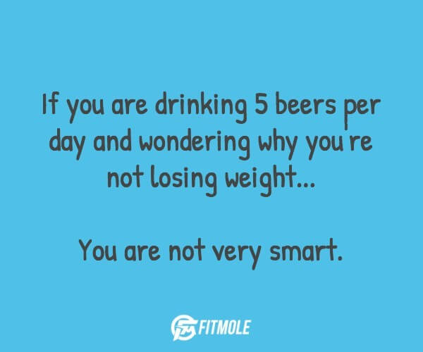 beer weight loss
