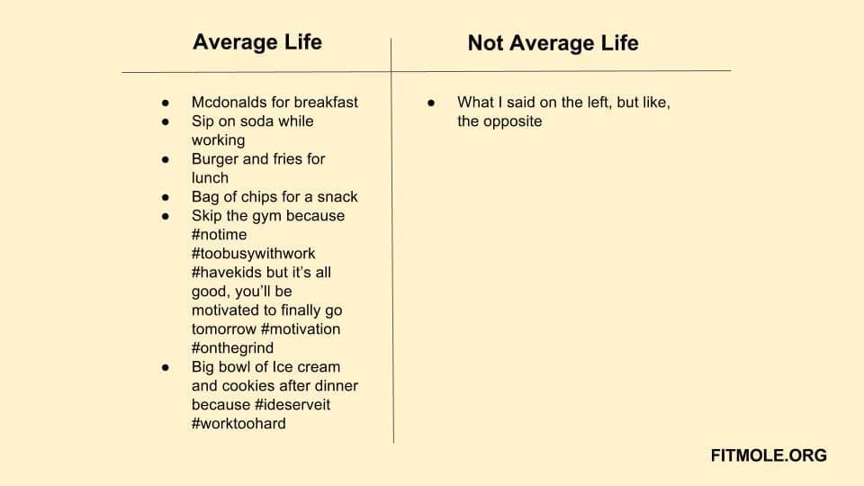 average life fitness
